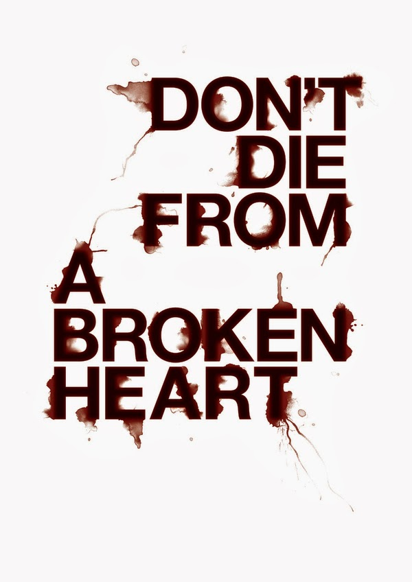 Poster Craig Ward Don't Die From a Broken Heart
