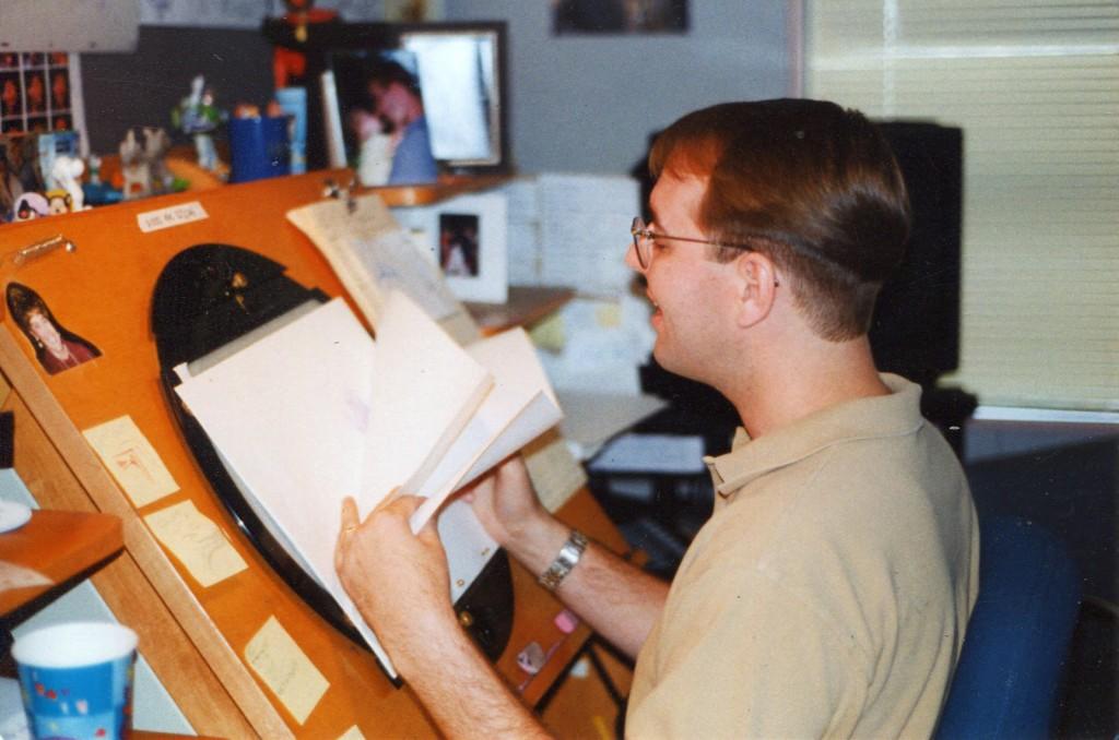 El dibujante e ilustrador Tom Bancroft