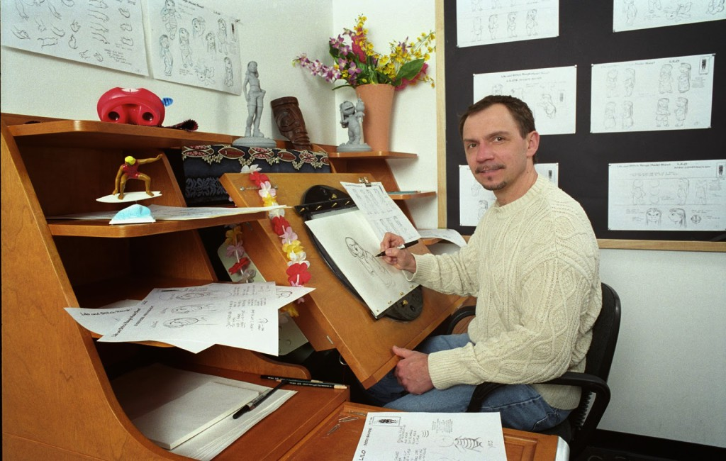 El dibujante Andreas Deja