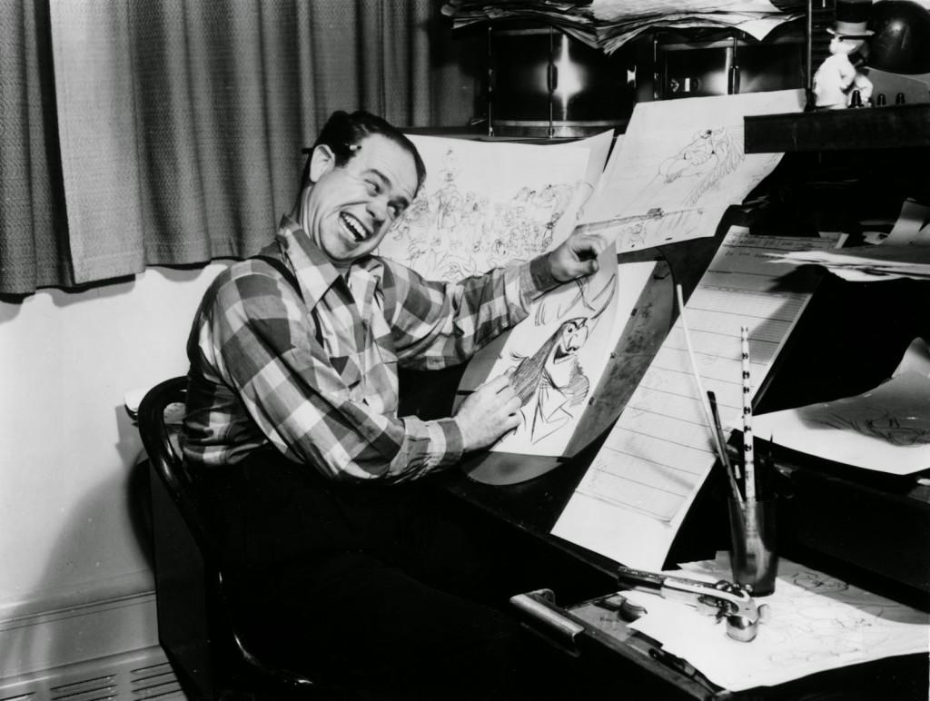 El dibujante Frank Thomas