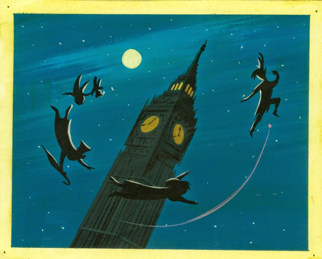 Peter Pann por Mary Blair
