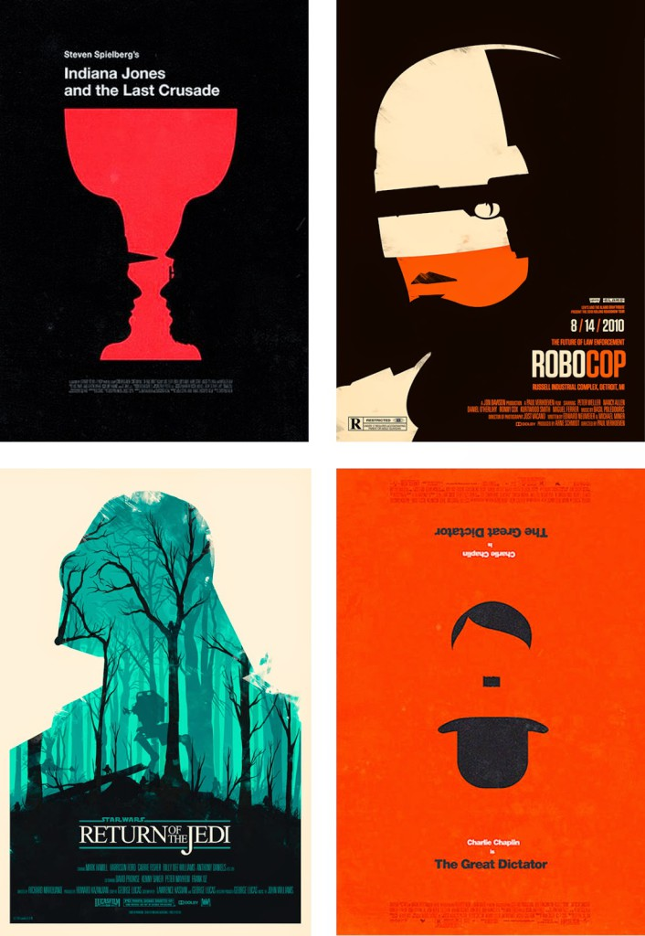 Alternative Movie Posters by Olly Moss