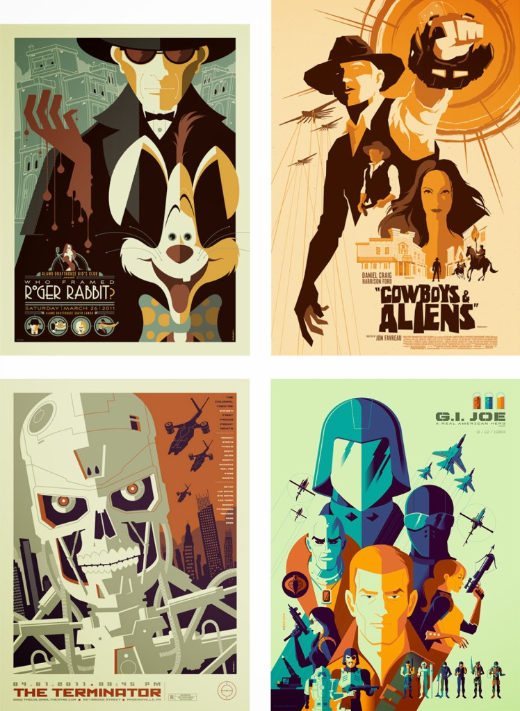 Alternative Movie Posters by Tom Whalen