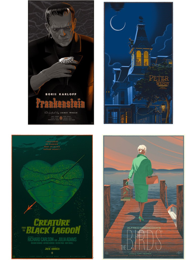 Alternative Movie Posters by Laurent Dorieux