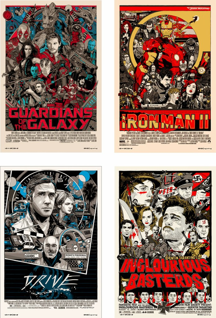 Alternative Movie Posters by Tyler Stout