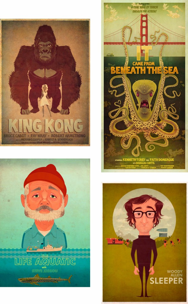 Alternative Movie Posters by James Gilleard