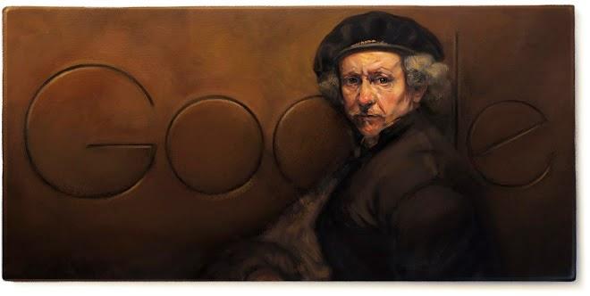 407 Aniversario del nacimiento de Rembrandt