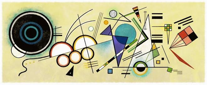148 Aniversario del nacimiento de Wassily Kandinsky
