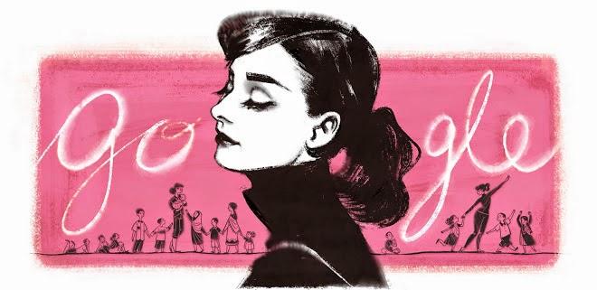 85 Aniversario del nacimiento de Audrey Hepburn