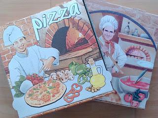 Clásicas cajas de pizza