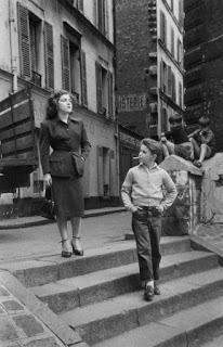 Instantánea en las calles de París (Paul Almàsy)