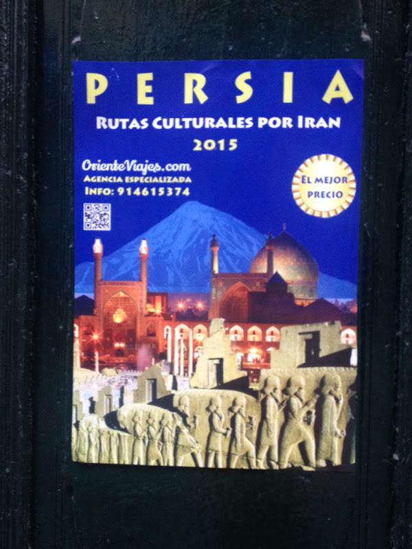 Viajes a Persia que dan poca confianza