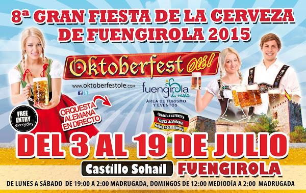 Flyer del Octover Fest 2015