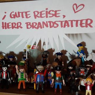 Homenaje a Horst Brandstätter y Playmobil en Instagram